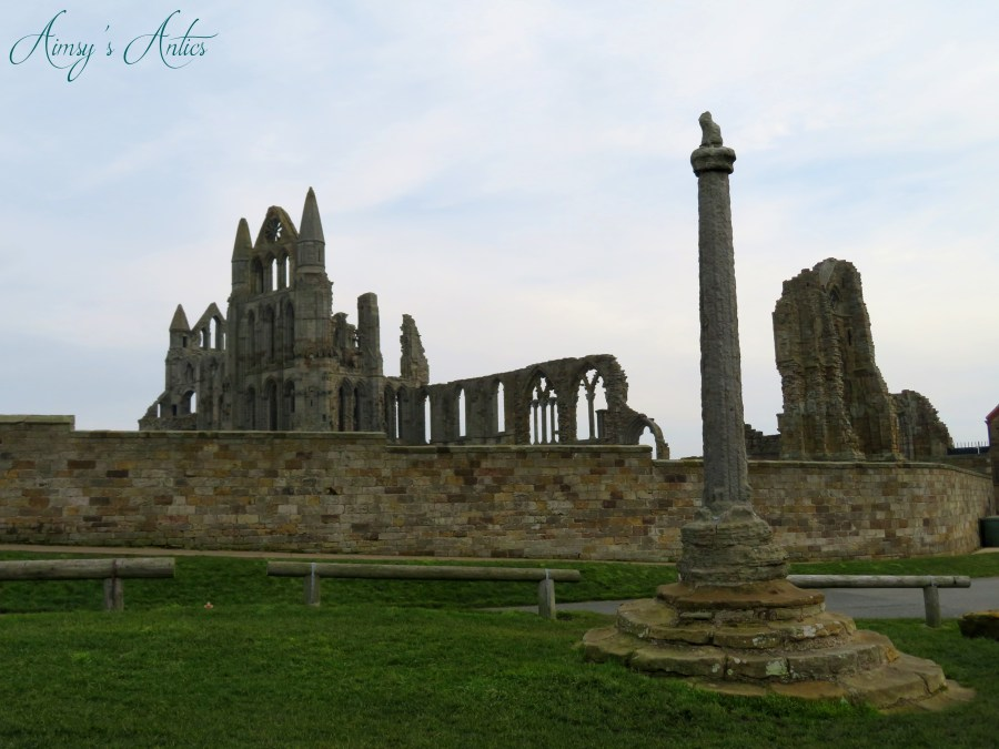 Whitby Abbey side view