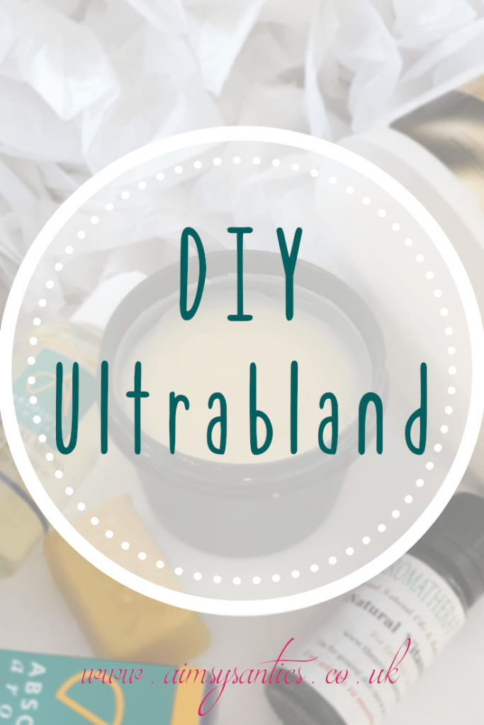 DIY Ultrabland - A lush dupe /inspired recipe - www.aimsysantics.co.uk