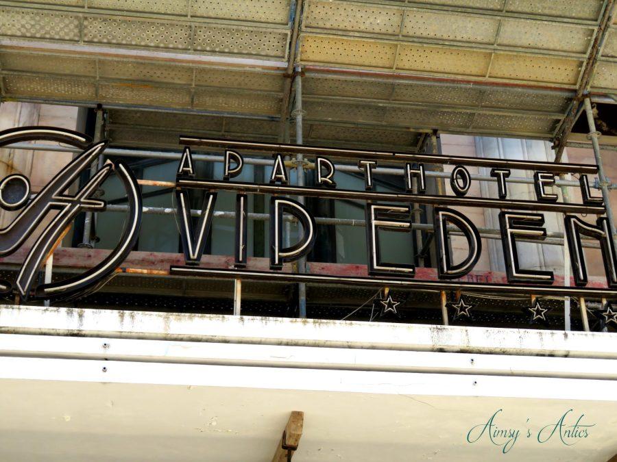 VIP Executive Eden Aparthotel sign