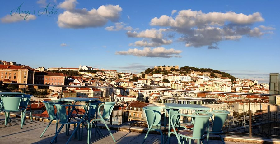 View of Lisbon from the VIP Executive Eden Aparthotel Rooftop