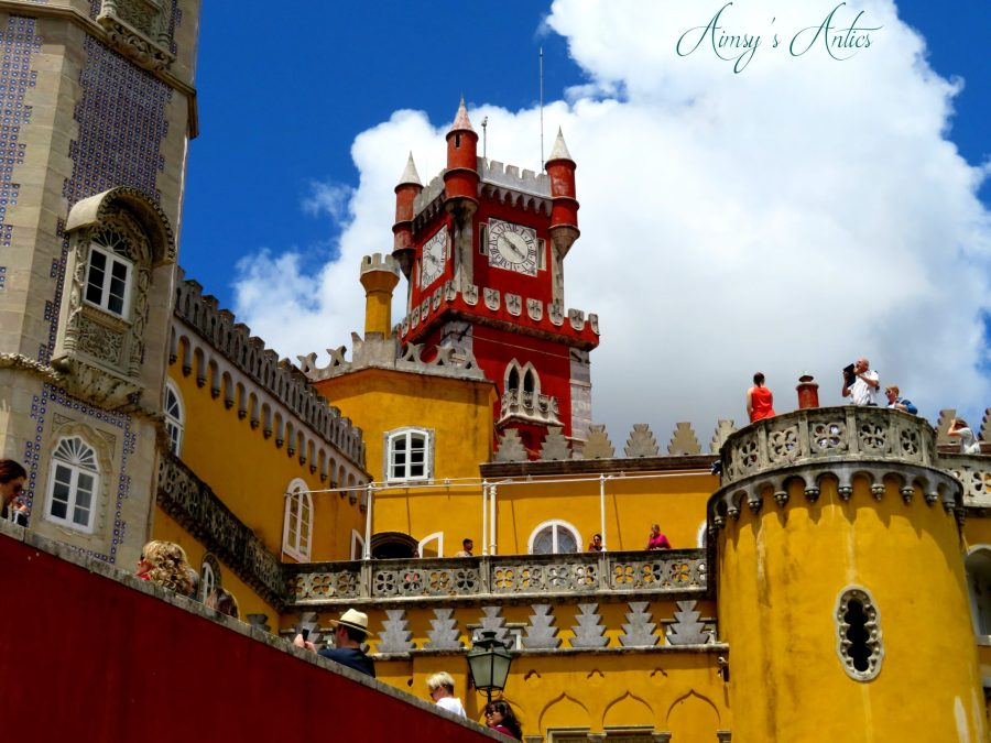 Exterior view of Pena Palace, Sintra