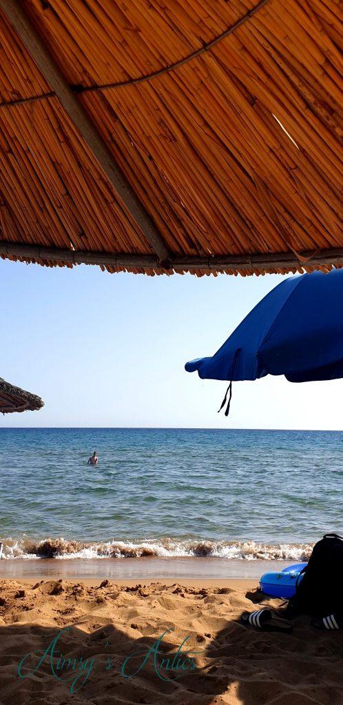 Malibu beach, St George South, Corfu