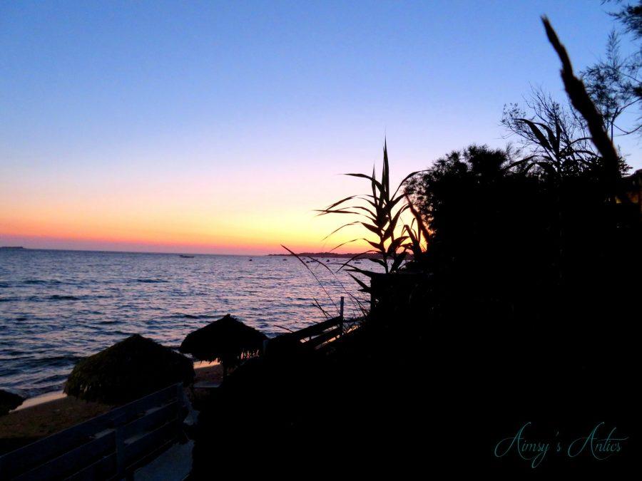 Sunset in Corfu
