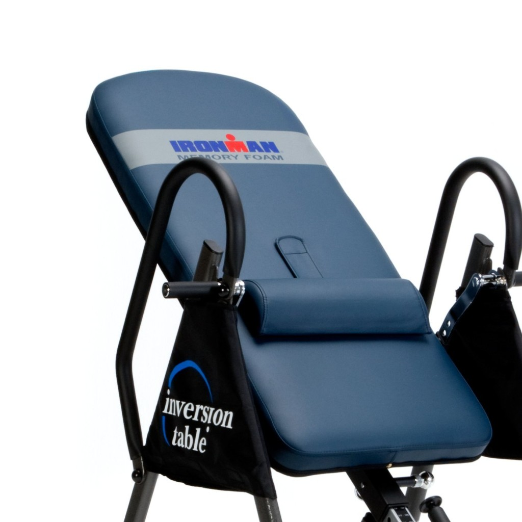 upside down chair for back pain mid century modern leather ironman gravity 4000 inversion table review aim workout
