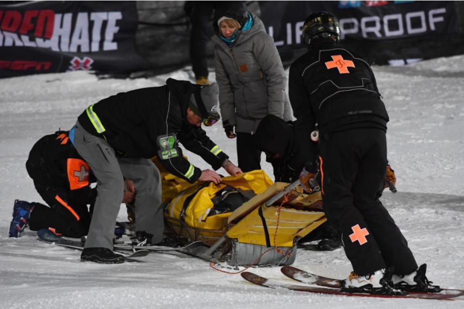Luca Schuler a scapat doar cu o contuzie dupa un accident grav la X Games