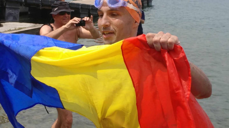 OCEANMAN: Paul Georgescu, podium la prima competitie in afara Romaniei