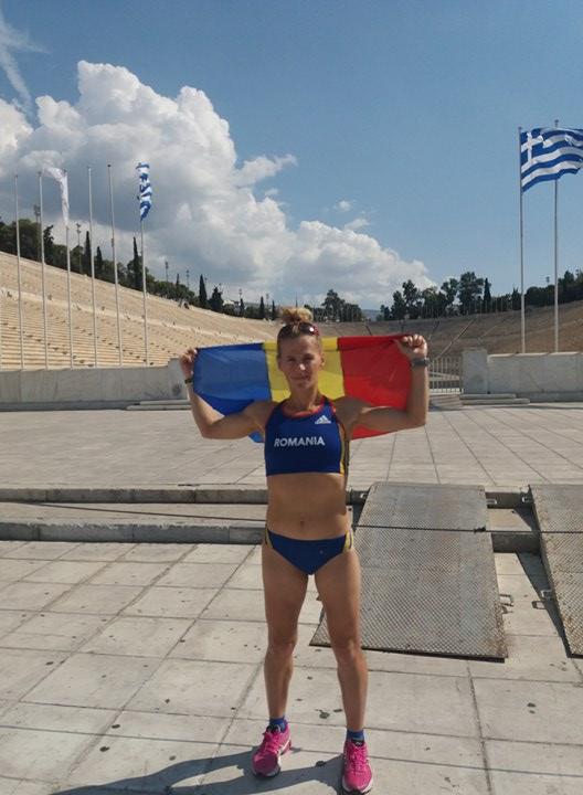 Mariana Nenu este prima romanca finisher la Ultra Spartathlon (GRECIA)