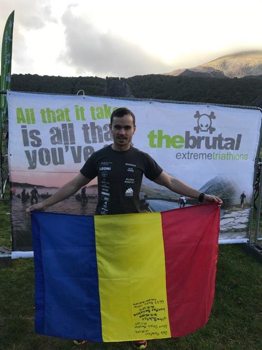 "Vlad Tanase si The Brutal Extreme Triathlon: ""Incepi. Si termini. Atat"""