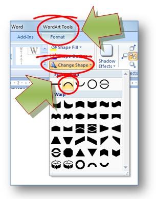 Membuat Tulisan Berbentuk Di Corel : membuat, tulisan, berbentuk, corel, Mudah, Membuat, Tulisan, Melengkung, Microsoft, Aimyaya