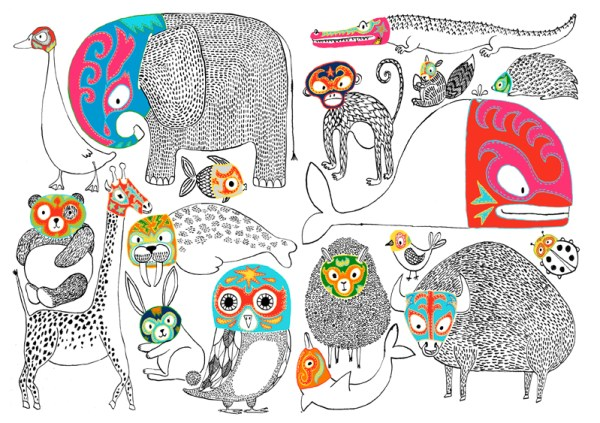 Animales Luchadores