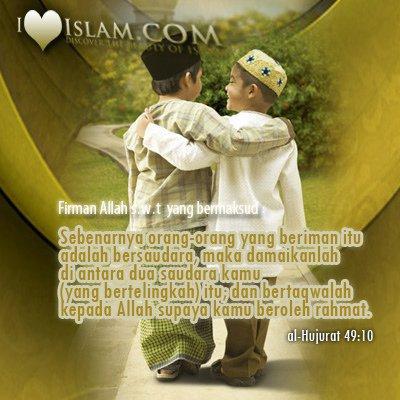 persahabatan islam  Just who we are