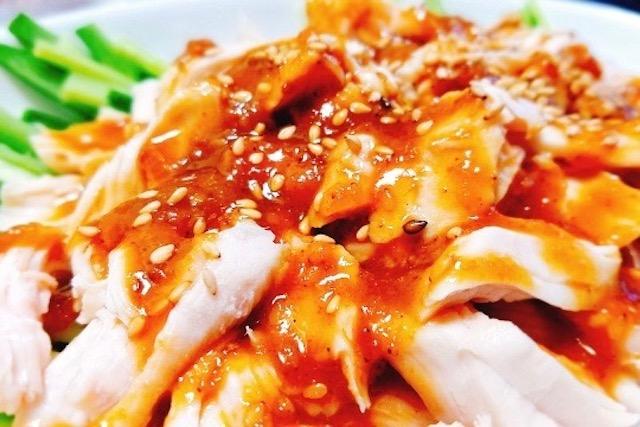 ウルトクマンの鶏肉レシピ・バンバンジー風サラダ