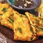 スッキリ 茶がらと根菜のチヂミ・栄養分を無駄なく食べるレシピ!コウケンテツ