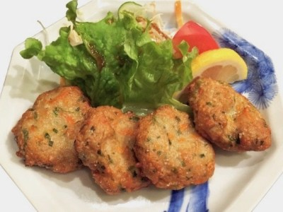 ウルトクマンの野菜のさつま揚げのレシピ