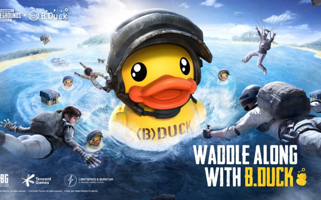 B.DUCK WADDLES INTO PUBG MOBILE FOR UNPRECEDENTED COLLABORATION