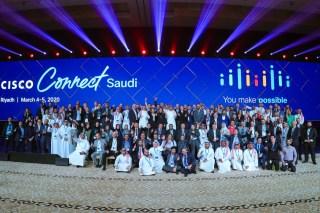 شركة سيسكو تحتل المرتبة الأولى في قائمة أفضل الأماكن للعمل في المملكة العربية السعودية شركة Great Place to Work Middle East تشيد بتركيز سيسكو على تعزيز ثقافة الشركة والاستثمار في حلول مساحات العمل الرقمية