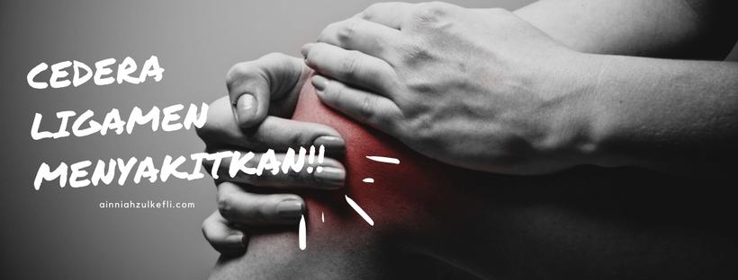 Cedera Ligament Pada Lutut : Lutut Dah Tak Gegau