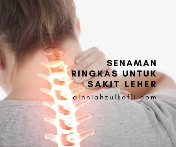 sakit leher
