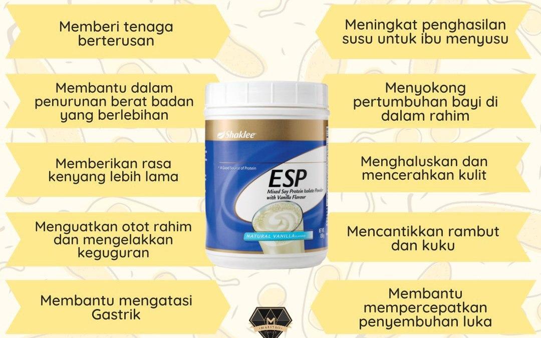 50 Jawapan Nutritionist Tentang ESP Shaklee