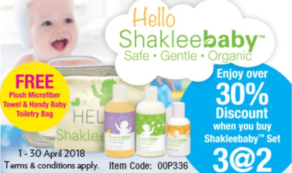 promosi shaklee mei 2018