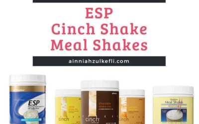 Meal Shakes, Cinch dan ESP Shaklee