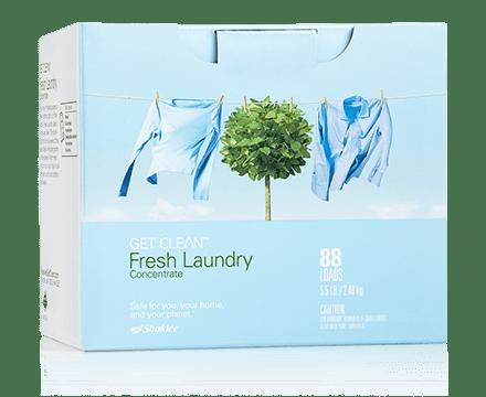 Mendobi Lebih Mudah Dengan Fresh Laundry Shaklee