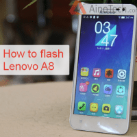How to flash Lenovo A8 (A806, A808T)