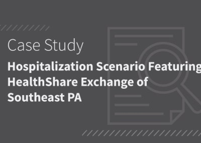 Hospitalization Scenario Featuring HealthShare Exchange of Southeast PA