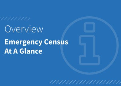 Emergency Census At A Glance