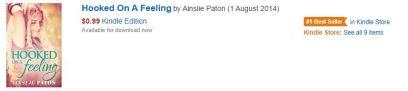 Bestseller tag Hooked