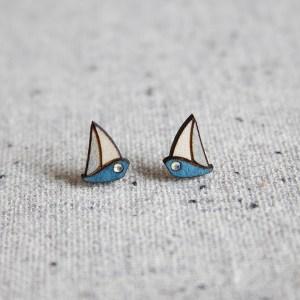 Kõrvarõngad – purjekas | Irina Tammis Design