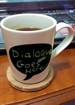 Dialogue Goes Here