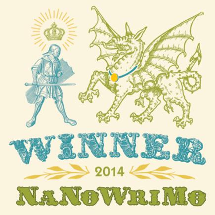 Winner! Nov. 20th, 2014, Total words: 53,102