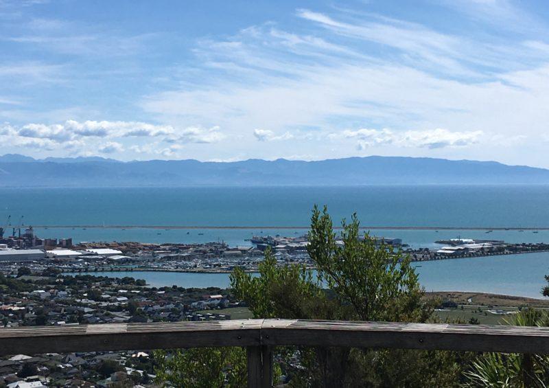 センターオブニュージーランドからの眺め
