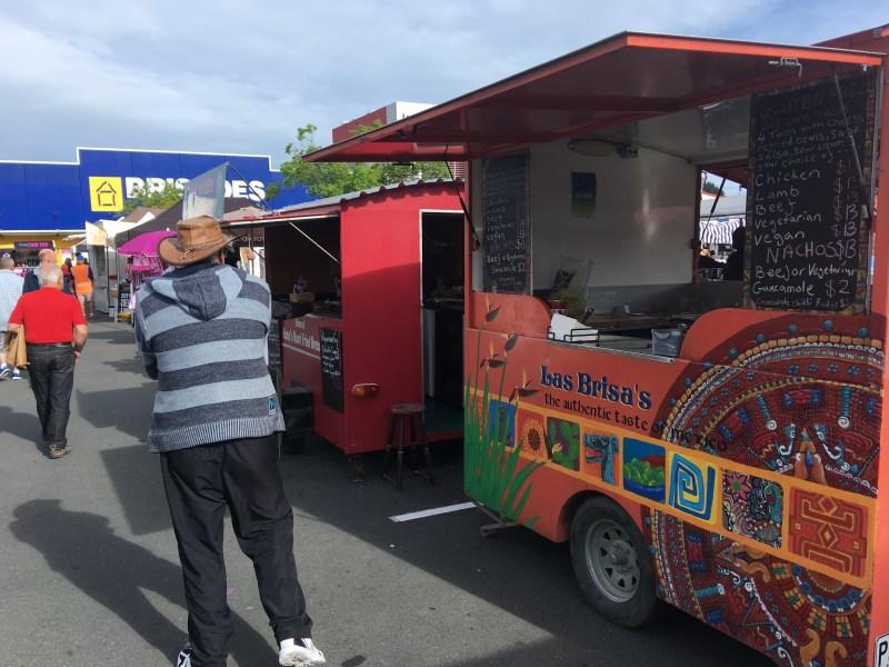ネルソンネルソンマーケットのフードトラック