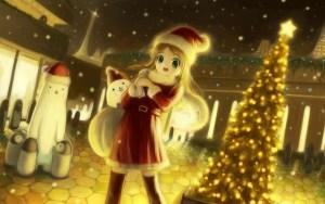 Fredag 18 december: Konfekt og jule-anime