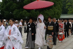Fredag 31 marts 2017 - Japanske bryllups-traditioner
