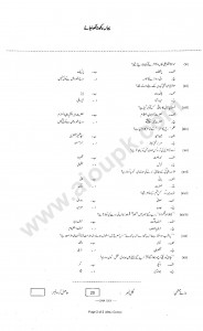 Urdu Compulsory of HSSC Annual Examinations 2013 Part-11