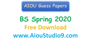 AIOU BS GUESS PAPERS