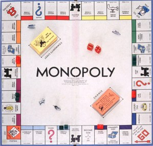 Monopoly and other Board Games