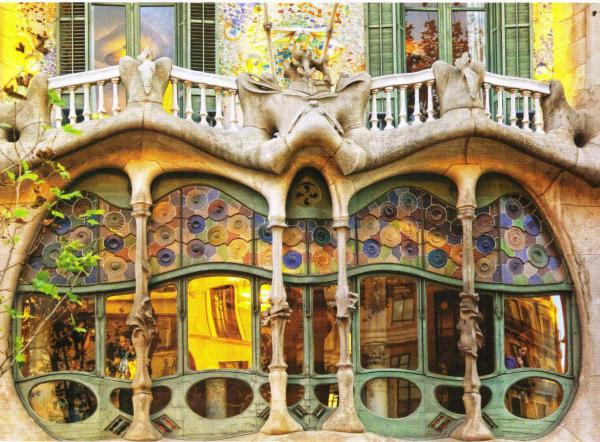 Barcelona Antoni Gaudi Works