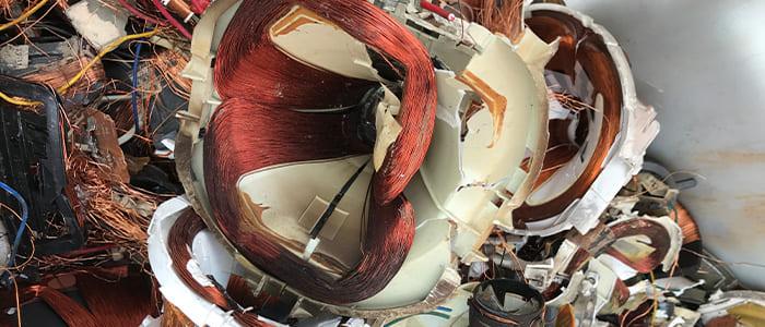 偏光ヨーク、テレビ雑品の取扱。滋賀県金属買取の神田重量金属株式会社