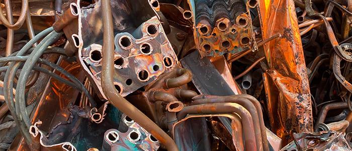 銅の赤釜のの取扱をしています、滋賀県非鉄金属買取の神田重量金属株式会社