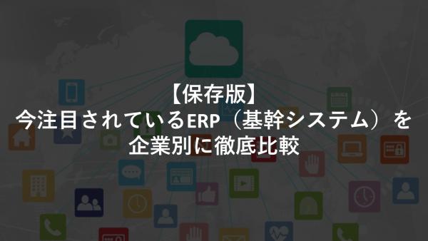 ERP 基幹システム 比較