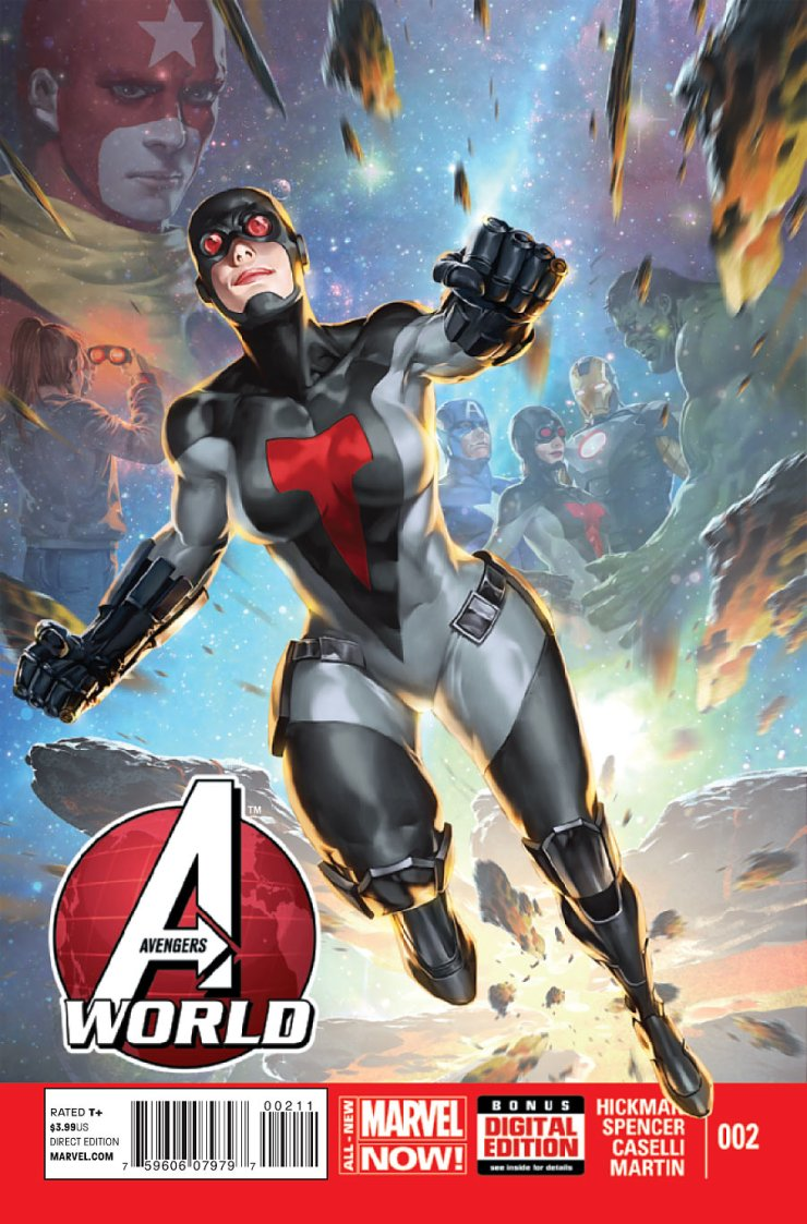 Your weekly dose of Avengers fun is here in Avengers World, as co-written by Hickman and Spencer. Can they elevate the story and the characters this time around, or will the book continue to mire in mediocrity? Is it good?