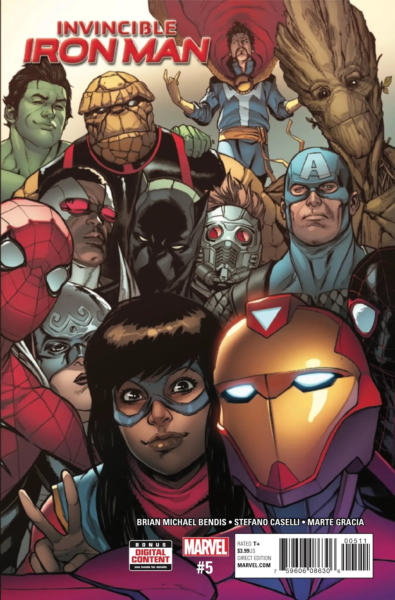 Invincible Iron Man #5 Review