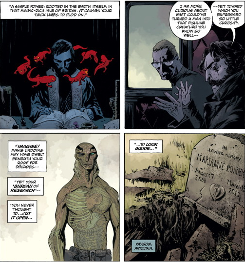 Is It Good? Abe Sapien #9: To the Last Man Part 1 Review