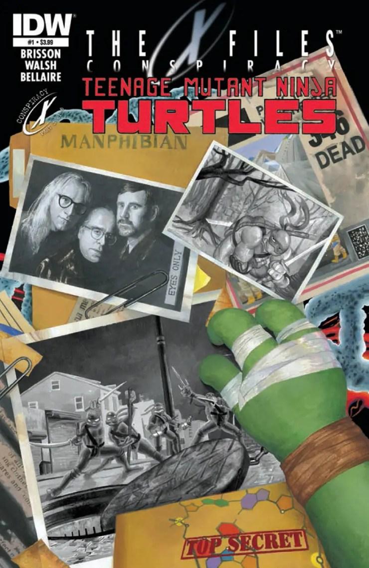 Is It Good? The X-Files Conspiracy: Teenage Mutant Ninja Turtles #1 Review