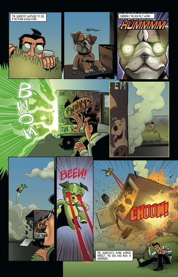 axe-cop-volume-5-axe-cop-gets-married-and-other-stories-tpb-dog-lasers