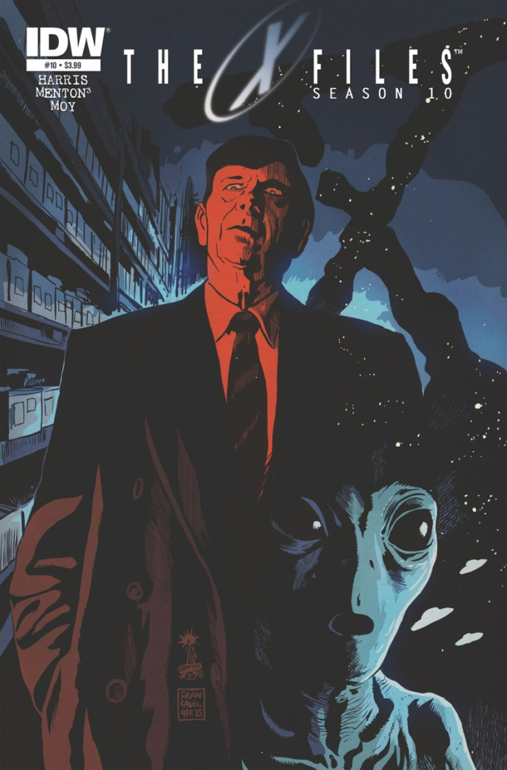 After last month's disappointing paint-by-numbers story, this month's issue treats us to a tale about everyone's favorite villainous spokesman for the tobacco industry, the Cigarette Smoking Man. Is it good?